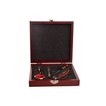 Set De Vino 5 Piezas -regalo Empresarial-grabado Laser