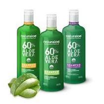 Shampoo Anti Caida Del Cabello Naturaloe (aloe Vera 60%)