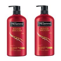 Shampoo Tresemmé Keratin Smooth Anti-frizz Queratina 2x400ml