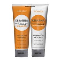 Keratina Restauración - Shampoo Y Acondicionador