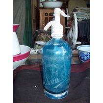 Sifon Antiguo Azul Decoracion Campo Almacen Boliche