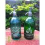 Lote De 2 Antiguos Sifones Cabeza De Plomo Uno Verde Azulado