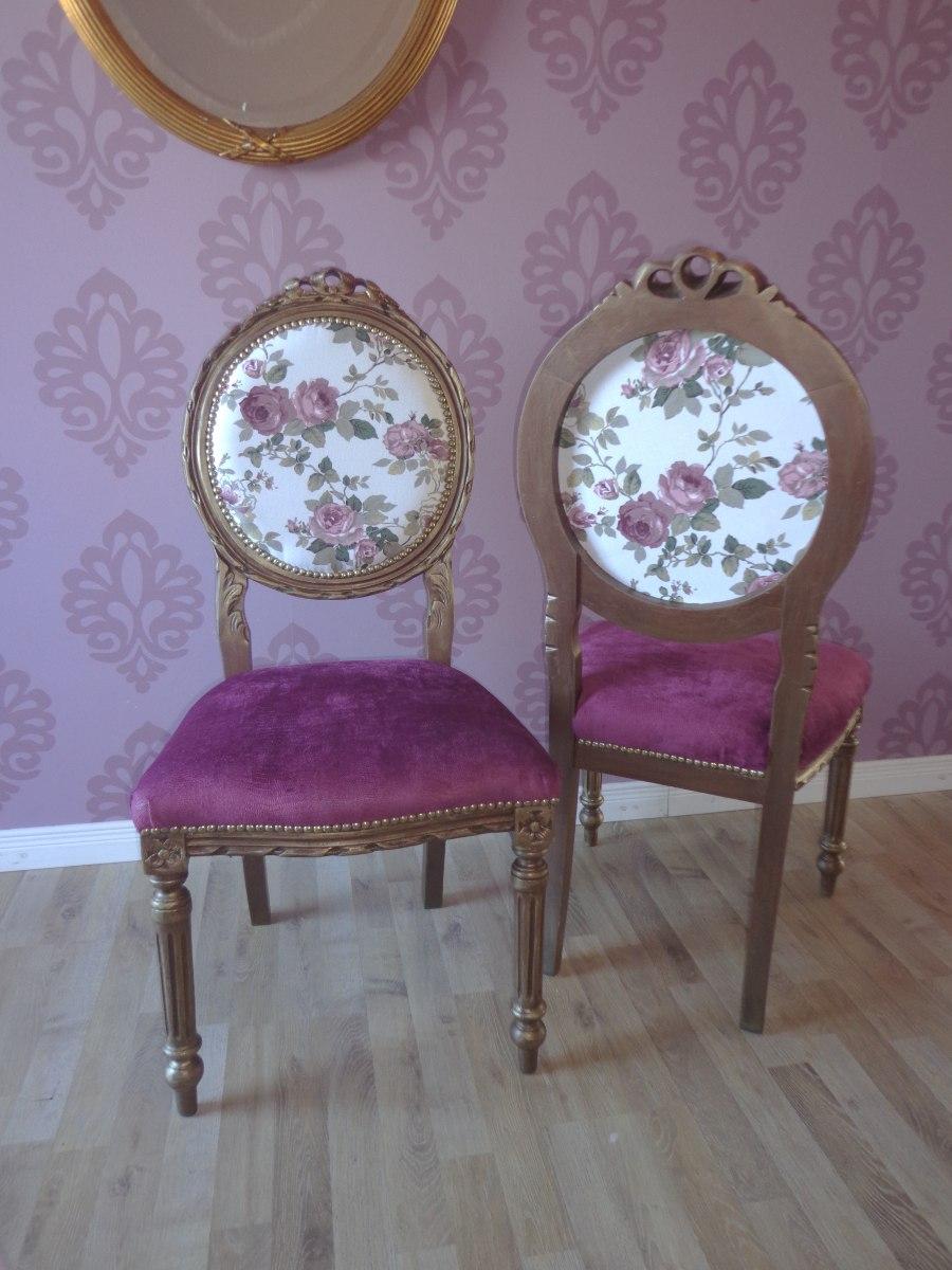 Tapizado de sillas antiguas free elegant una silla - Como tapizar sillas antiguas ...