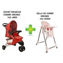 Silla De Comer + Coche Jogger Dreams Trotylkids Minorista