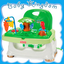 Silla De Refuerzo Booster Fisher Price Rainforest.con Juegos
