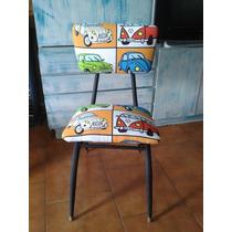 Silla Retro Vintage Unica En El Sitio!!!