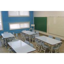 Mesa Escolar Infantil Jardin De Infantes 1.2m X 0.6m Promo!