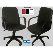 Silla Sillon Oficina Pc Giratoria Altura Regulable