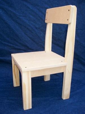 Sillitas infantiles madera y m d f de 15mm sillas para - Mesa y sillas para ninos de madera ...