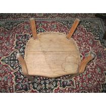 Mueble Antiguo Sillon Herradura Sala Roble A Restaurar