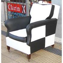 Par de sillones retro vintage restaurados a nuevo - Sillones antiguos restaurados ...