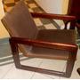 Sillon Retro Vintage 60 Madera Cedro Americano Regalo