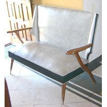 Sillon 2 Cuerpo Diseño Retro Vintage Americano Escandi B/est