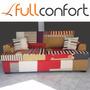 Sillon Sofa Patchwork 2/3 Cuerpos Premium + Cuotas Mp