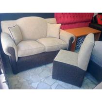 Sillon 2 Cuerpos Chenille-tela-fabricante De Sillones-sofa-