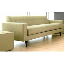 Sillon Sofa Newvintage En Chenille O Similcuero C/placa Soft