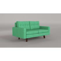 Sofa Pangea Mussa. Tapizado En Pana. Varios Colores. Rosario