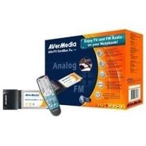 Placa Tv Avermedia Avertv Cardbus Pro Sintonizadora S-video
