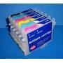 Cartucho Recargable Para Epson R200 R220 R300 Rx500 Rx600
