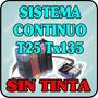 Sistema Constinuo Para Epson T25 Tx 125 Tx 135 Sin Tinta