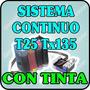 Sistema Constinuo Para Epson T25 Tx 125 Tx 135 Con Tinta