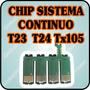 Chip De Repuesto Sistema Continuo Para Epson T23 Tx105 Tx115