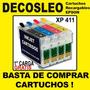 Cartuchos Recargables Epson Xp 411 La Primera Carga Gratis