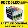 Cartuchos Recargables Para Epson C79 C92 Cx5600 Cx7300 Tx220