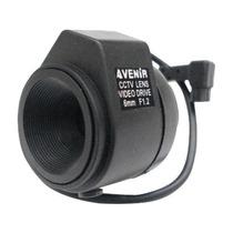 Lente Camara Seguridad Cctv Con Auto Iris 6mm