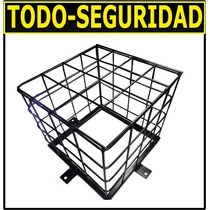 Jaula Reja Protectora Para Camaras De Seguridad Cctv Domo