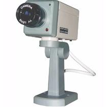 Camara De Seguridad Falsa Robotica Sensor De Movimieto Y Led