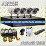 Kit Seguridad Dvr 4 Camaras Ir Ext Cctv Con Disco Rigido 1tb