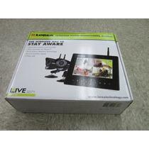 Kit De Seguridad Wireless Lorex Monitor Digital Dos Camaras