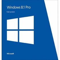 Windows 8.1 Pro 32 Y 64 Bits   Licencia Original Para 1 Pc