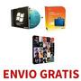 Windows 7 + Office 2010 + Adobe Suite Cs6 (5 Dvds) + Envio