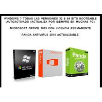 Windows 7 Ultimate + Office 2013 + Nod 32 Antivirus (3 Dvds)