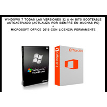 Windows 7 Ultimate + Office 2013 Professional Plus (2 Dvds)