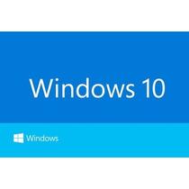 Windows 10 Pro 32/64 Bits Licencia - 1 Pc -