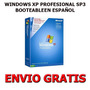 Windows Xp Pro Sp3 Booteable (1 Dvd) + Envio Gratis