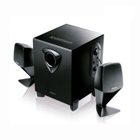 Parlantes Edifier X100 2.1 Multimedia Subwoofer Madera