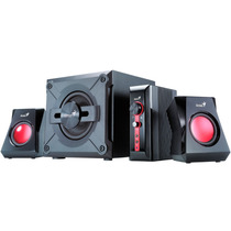Parlantes Gamer Subwoofer Genius Sw-g2.1 1250 38w Pc Tv Dvd