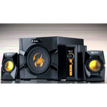 Parlantes Gamer Gx Genius Sw G2.1 3000 70w Subwoofer Pc Tv