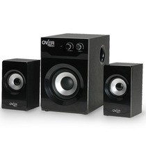 Parlantes 2.1 Multimedia Overtech 119 + 240w + Bass Control