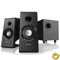 Sistema De Parlantes 2.1 Philips Spa2335/77 28w Rms
