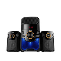 Parlantes 2.1 Bluetooth Overtech 165 + 1200w + Fm + Usb + Sd