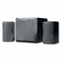 Parlantes Edifier X400 2.1 24w Rms Madera Gamer Ideal