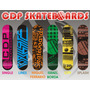 Tabla Skate Profesional Cdp Skateboards Incluye Lija
