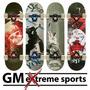 Skate Doble Cola Profesional Gm Sports Trucks Metalizados