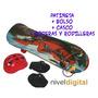 Skate Patineta + Bolso + Coderas + Rodilleras +casco Niño