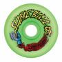 Santa Cruz Slime Balls Vomits Skate 60mm 97a Ruedas, Verdes